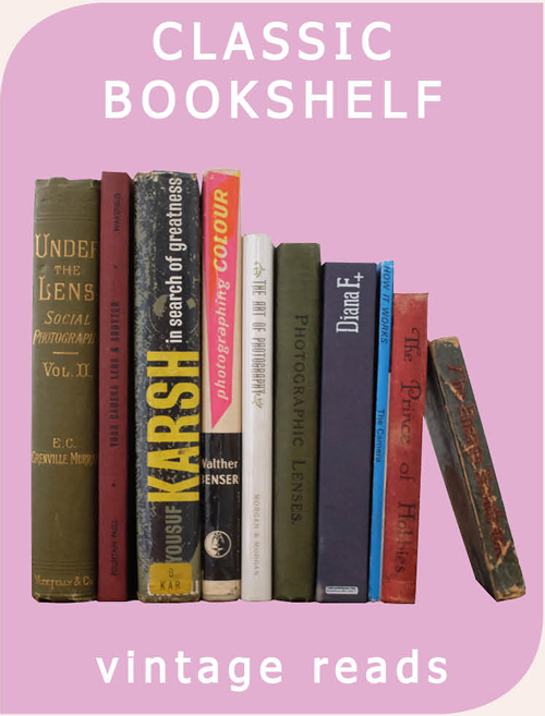 classic bookshelf - photographic books reviewed