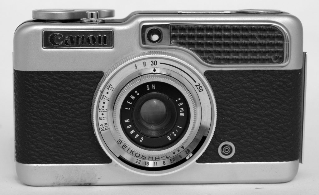 canon demi half frame camera