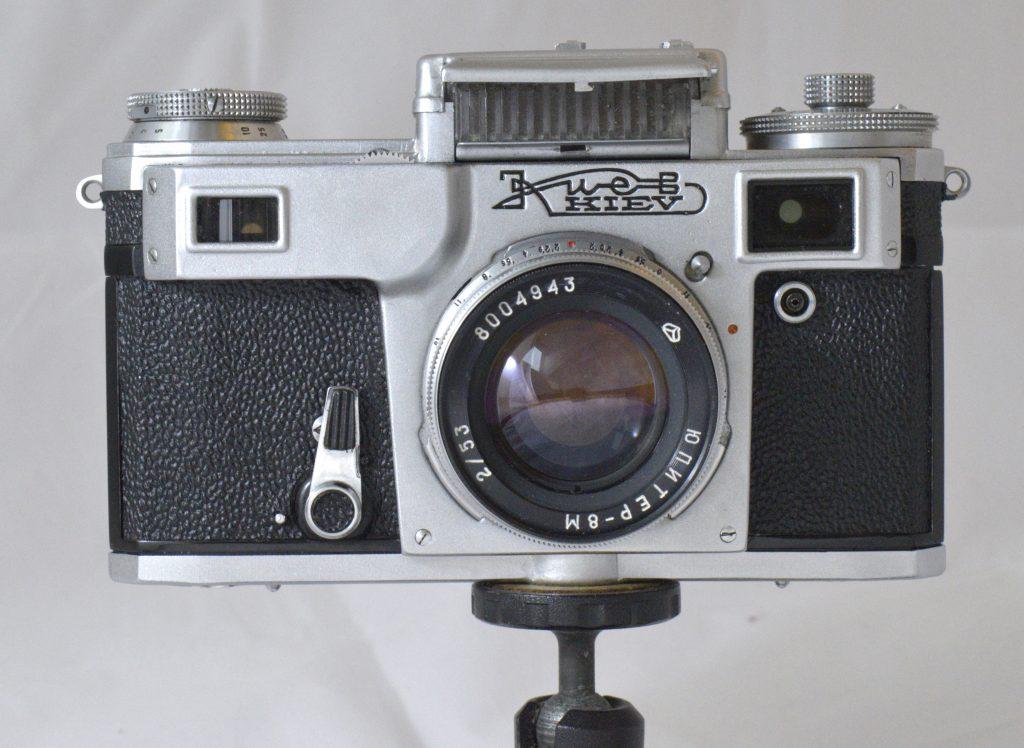 Kiev 4 with Jupiter lens