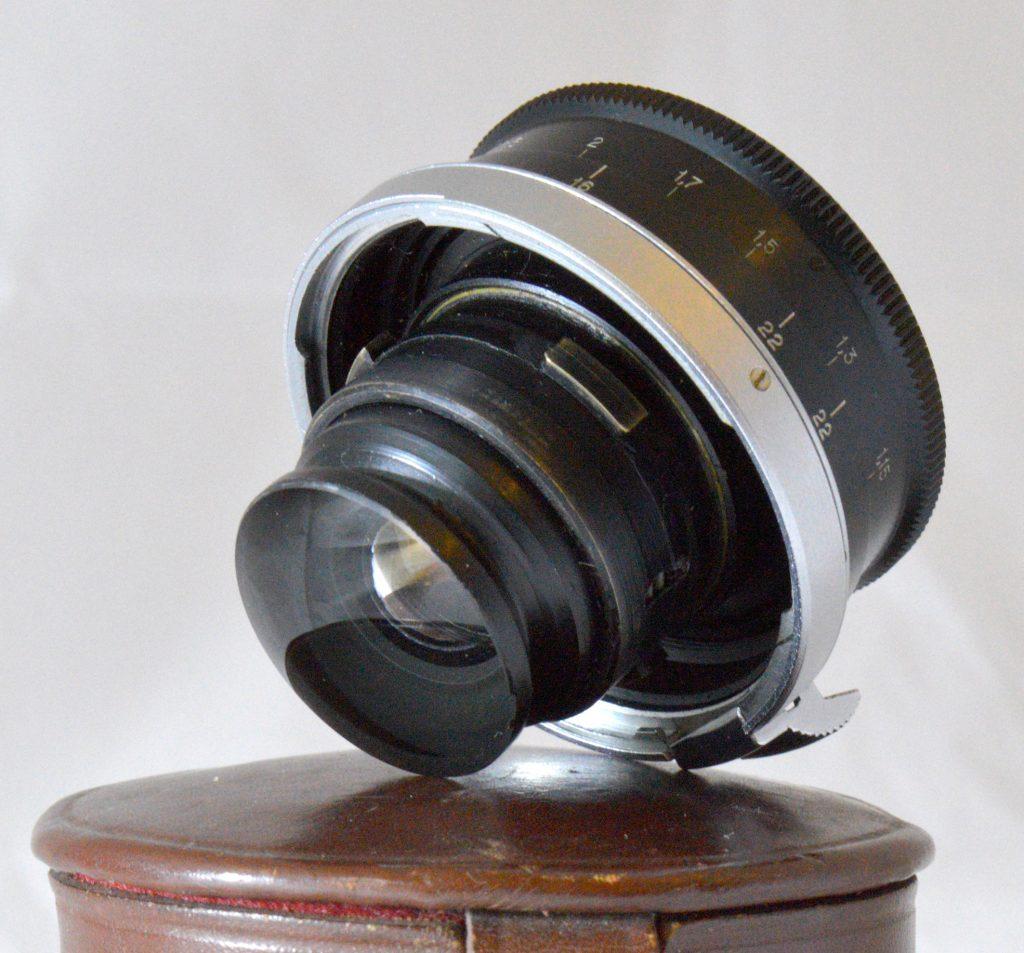 Kiev Jupiter 12 35mm wide angle lens
