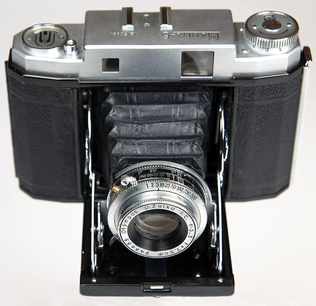 Mamiya 6 camera - folder version