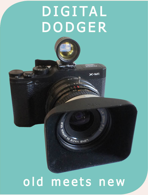 digital dodger - using old lenses with digital cameras
